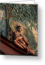 Buddha Relief Greeting Card
