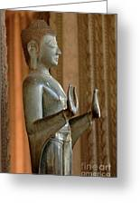 Buddha Vientienne Laos Greeting Card
