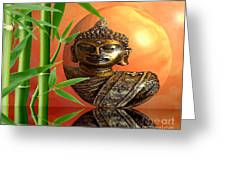 Buddhas Wourld Greeting Card