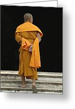 Buddhist Monk 1 Greeting Card by Bob Christopher