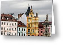 Budweis - Pearl Of Bohemia - Czech Republic Greeting Card