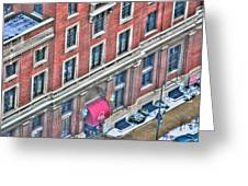 Buffalo Athletic Club Downtown Winter Greeting Card