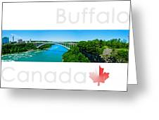 Buffalo Canada Greeting Card