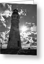 Buffalo Lighthouse 16717b Greeting Card