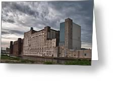 Buffalo Mills - The Backside Greeting Card