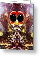 Bug Eyes Greeting Card by Skip Nall