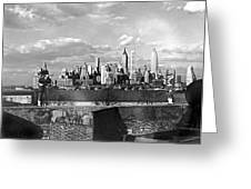Buglers On Governors Island Greeting Card