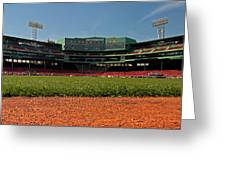 Bugs Eye View From Center Field Greeting Card