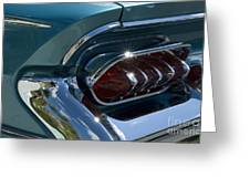 Buick Electra Tail Light Assembly Greeting Card
