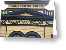 Building At Klondike Gold Rush National Greeting Card by Michael Melford