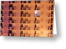 Building Facade Greeting Card