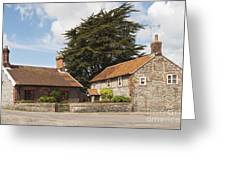 Building Houses Traditional Weybourne Norfolk Greeting Card