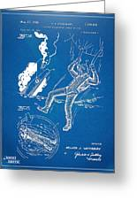 Bulletproof Patent Artwork 1968 Figures 16 To 17 Greeting Card