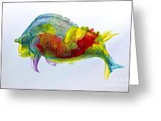 Bullfish Greeting Card