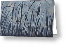 Bullrush Blues Greeting Card
