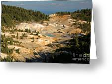 Bumpass Hell Greeting Card