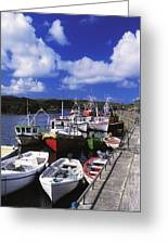 Bunbeg, Donegal, Ireland Harbour Of A Greeting Card