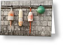 Buoy Shed Greeting Card