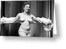 Burlesque Charms Greeting Card