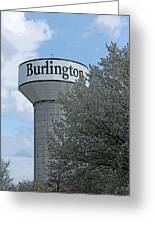 Burlington Greeting Card