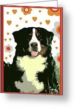 Burmese Mountain Dog Greeting Card