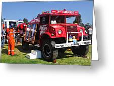 Bushfire Brigade Greeting Card