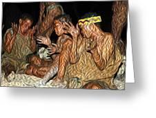 Bushmen Greeting Card