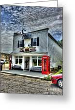 Business In Moundsville Wv Greeting Card
