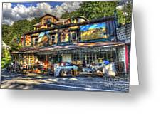Business Near Thomas Wv Greeting Card