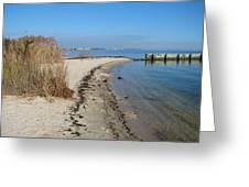 Butler Beach Greeting Card