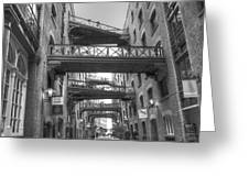 Butlers Wharf London Greeting Card