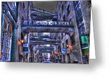 Butlers Wharf London Hdr Greeting Card