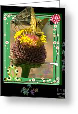 Butterflies 3d Greeting Card
