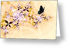 Butterflies Paradise Greeting Card