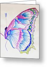 Butterflly Print Greeting Card
