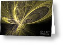 Butterfly - Abstract Art Greeting Card