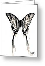 Butterfly Tears 2 Greeting Card