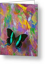 Butterfly Wall Greeting Card