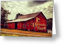 Buy Flour. #barn #pa #pennsylvania Greeting Card