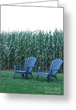 By The Cornfield Greeting Card