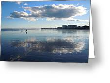 By The Sea In Maine Greeting Card