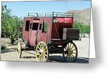 Bygone Transportation Greeting Card