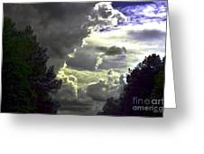 C Is For Clouds Greeting Card