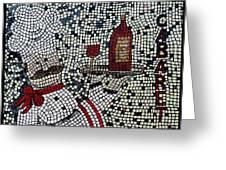 Cabaret Wine Greeting Card