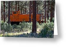 Cabin Car 2 Greeting Card