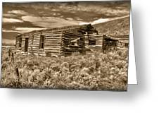 Cabin Fever Greeting Card