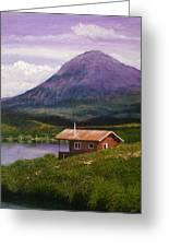 Cabin On Tangle Lake Greeting Card
