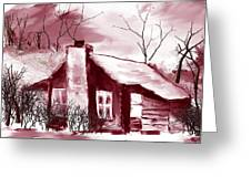 Cabin2 Greeting Card
