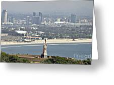 Cabrillo National Monument Greeting Card