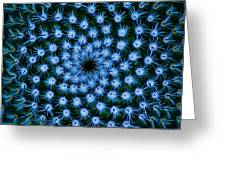 Cacti Blues Greeting Card